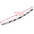CNC Slot Track Billet Windshield Trim for Harley Electra Glide FLHX (1997-2013) Black