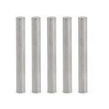 Mad Hornets 5PCs Stainless Steel Round Tube Case 6*50mm For PT100 DS18B20 Temperature Sensor