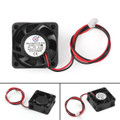 Mad Hornets 4PCs 12V Cooling Computer Fan Sleeve Bearing Small 40x10mm DC Brushless 2 Pin