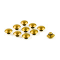 Hex Socket Bolt Screw Nut Head Cover Cap M10 10MM Universal, Gold