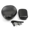 Front Rear Pillion Passenger Seat For Honda Shadow Spirit VT750 ACE VT750C VT750CD (98-03) Black (M512-F023-Black)