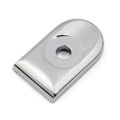 Seat Bolt Tab Cover Mount Knob For Harley Sportster Dyna Touring US, Chrome (M512-F057-Chrome)