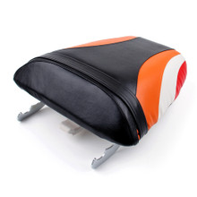 Passenger Rear Seat Leather Pillon For Honda CBR600 F4i (2001-2007) Repsol