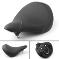 Front Seat Driver Solo Saddle for Yamaha XVS950 XV950 (2013) Black