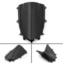 ABS Windshield WindScreen For Yamaha YZF 600 R6 (2017 2018) Black