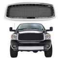 Mesh Style Front Hood Grille Rivet For Dodge Ram 1500/2500/3500 (2006-2008) Chrome