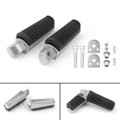 Footrest Foot Pegs Rear For Yamaha TDM850 (91-01) TDM900 (02-10) XJ6F (10-13) XJ6N XJ6S (09-13) XJ400 (92-93) XJ600 (93-02) XJ900 (95-03)
