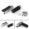 Front Footrest Pedals Foot Pegs for Kawasaki ZR250 BALIUS (91-07) ZR400 ZR400 (94-08) ZR400 ZEPHYR 400 (89-08) Z750 (04-12)