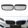 Kidney Grill Grille For BMW F45 F46 Active Tourer Gran Tourer (2015-Present) Black