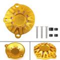 CNC Aluminum Engine Stator Cover Guard Protector For Kawasaki Z900 (2017) Gold