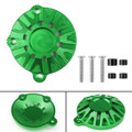 CNC Aluminum Engine Stator Cover Guard Protector For Kawasaki Z900 (2017) Green