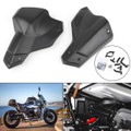 Cylinder Head Guard Engine Valve Protection Cover For BMW RnineT R1200R (2013-2017) Black