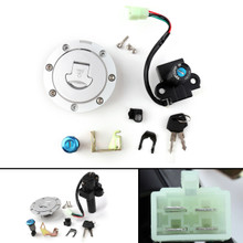 Ignition Switch Lock Fuel Gas Cap Key Set For Honda CB750 F2 92-01 CB1300 98-02