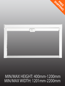 Pull down window fly screen - Large