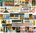 250+ Colored Signs & Posters