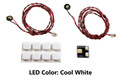 Flashing Pico LED 2-Pack: White