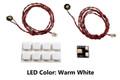 Pico LED 2-Pack: Warm White