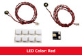 Flashing Pico LED 2-Pack: Red
