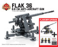 Flak 36 8.8 cm Anti-Aircraft Gun - Flakkorps Upgrade