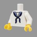 WWII US Navy Dress White Torso