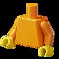 Genuine LEGO® Torso - Orange