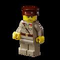 WWII Russian Officer - Dark Tan