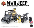 WWII Jeep (2016 Edition) + M3 Howitzer with 101st Airborne Soldiers