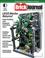"BrickJournal #40 (84 full-color pages, $8.95), the magazine for LEGO enthusiasts, returns to mechas and giant robots with builder BENJAMIN CHEH MING HANN, and shows you how to build mechs with builder KELVIN LOW! Then, SETH HIGGINS shows us his amazing transforming LEGO robots! Plus: Even cyborgs will love our regular features on Minifigure Customization by JARED K. BURKS, AFOLs by cartoonist GREG HYLAND, step-by-step ""You Can Build It"" instructions by CHRISTOPHER DECK, DIY Fan Art by BrickNerd TOMMY WILLIAMSON, MINDSTORMS robotics lessons, and more! Edited by Joe Meno."