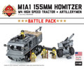 M1A1 155mm Howitzer Battle Pack