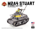 M2A4 Stuart US Marines Light Tank