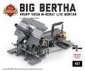 """""""Big Bertha"""" Krupp 42cm M-Gerat L/12 Mortar"""