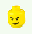 Genuine LEGO® Head with Scowl