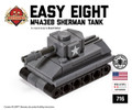 "Micro Brick Battle - ""Easy Eight"" M4A3E8 Sherman"