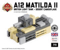 Micro Brick Battle - A12 Matilda II Micro-tank