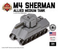 Micro Brick Battle - M4 Sherman Micro-tank