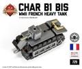 Micro Brick Battle - Char B1 Bis