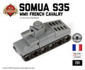 Micro Brick Battle - Somua S35