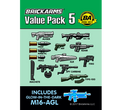 BrickArms Value Pack #5