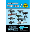 BrickArms Value Pack #7