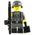 German Iron Cross Machine Gunner