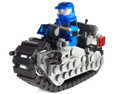 Space Cycle Model Set with Super Space Marine Blue Rider Minifig