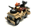 Rat Patrol Military Vehicle Model Set for Soldiers