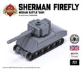 Micro Brick Battle - Sherman Firefly