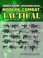 BrickArms Modern Combat - Tactical Pack