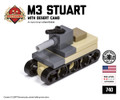 Micro Brick Battle - M3 Stuart