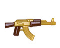 BrickArms Reloaded Overmolded AK (Gold)