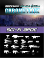 BrickArms Chrome Pack  Sci-Fi Apoc 