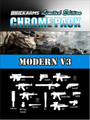BrickArms Chrome Pack Modern V3 