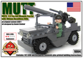 MUTT: M825 1/4 Ton 4x4 Weapon Carrier With 106mm Recoilless Rifle