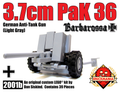 PaK 36 3.7cm Anti-Tank Gun (Light Gray)